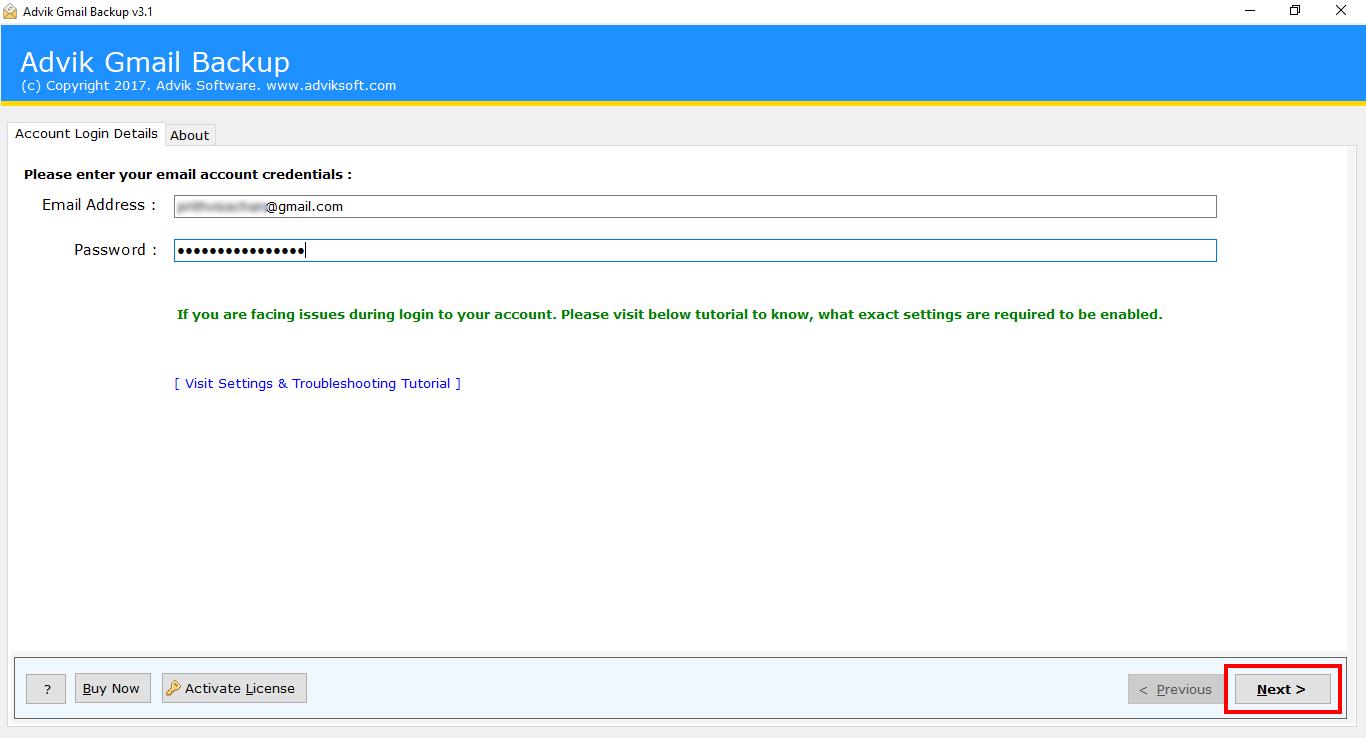 exportiere gmail zu pst